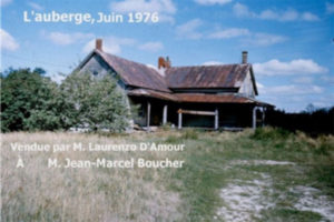 The residence of the owner, June 1976.